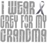 I Wear Grey My Grandma Grandmother Nana