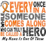 I Wear Orange My Grandmother Grandma Nana Hero