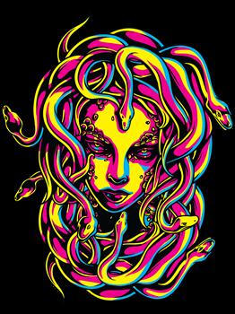 CMYK Medusa