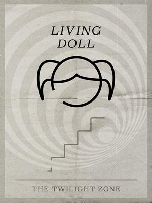 Living Doll Minimal Poster