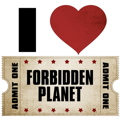 I Heart Forbidden Planet Ticket