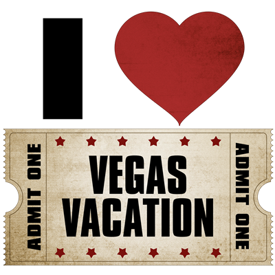 I Heart Vegas Vacation Ticket