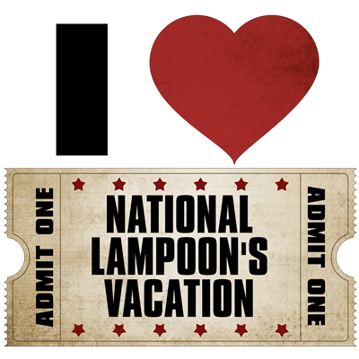I Heart National Lampoon's Vacation Ticket