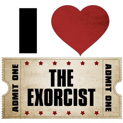 I Heart The Exorcist Ticket