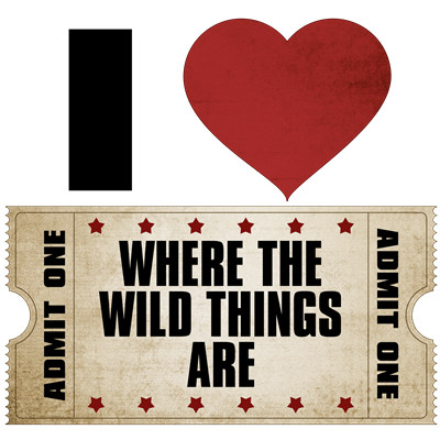 I Heart Where the Wild Things Are Ticket