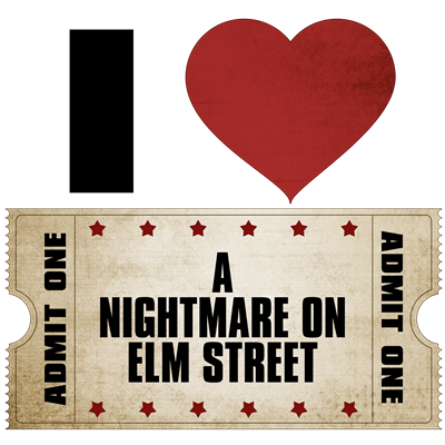 I Heart A Nightmare on Elm Street Ticket