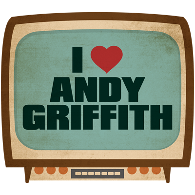 Retro I Heart Andy Griffith