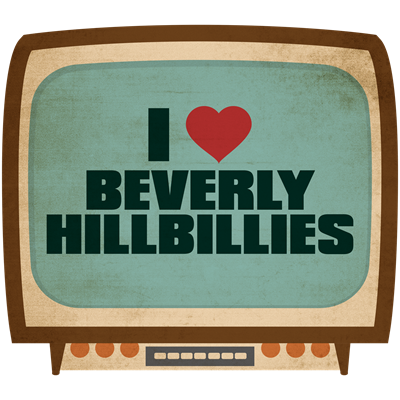 Retro I Heart Beverly Hillbillies