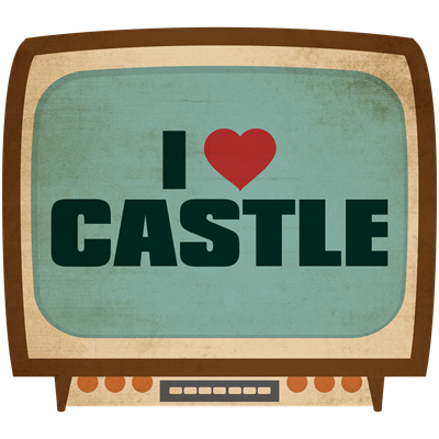 Retro I Heart Castle