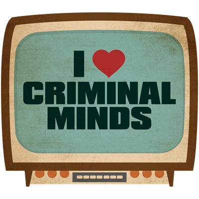 Retro I Heart Criminal Minds