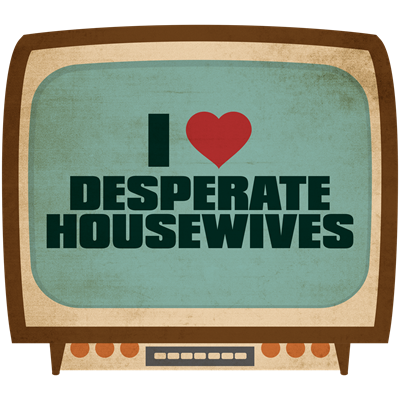 Retro I Heart Desperate Housewives