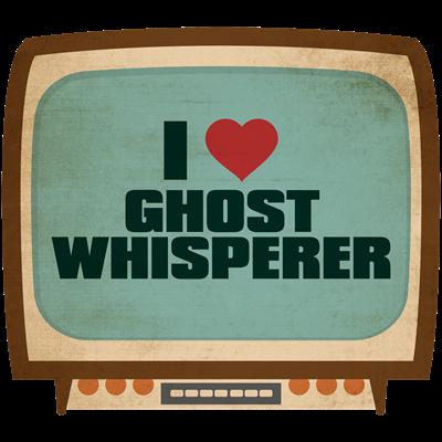 Retro I Heart Ghost Whisperer