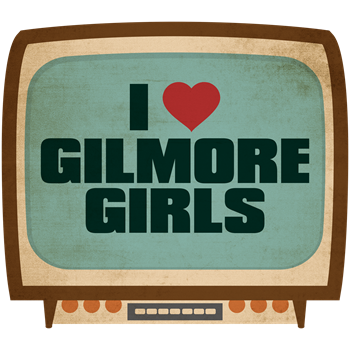 Retro I Heart Gilmore Girls