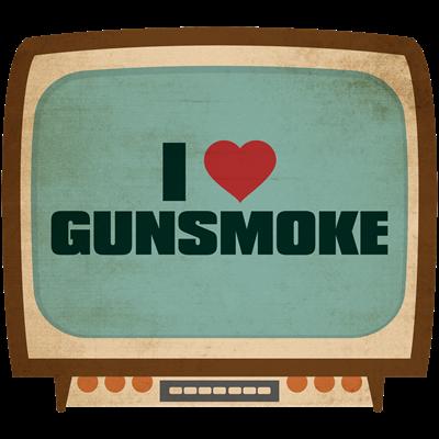 Retro I Heart Gunsmoke