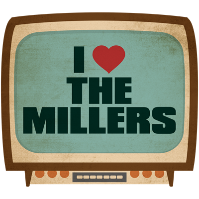 Retro I Heart The Millers