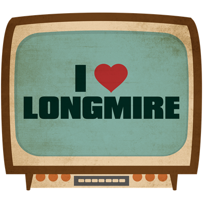 Retro I Heart Longmire
