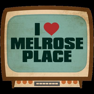 Retro I Heart Melrose Place