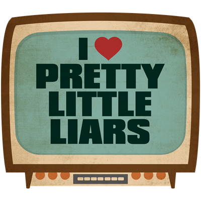 Retro I Heart Pretty Little Liars