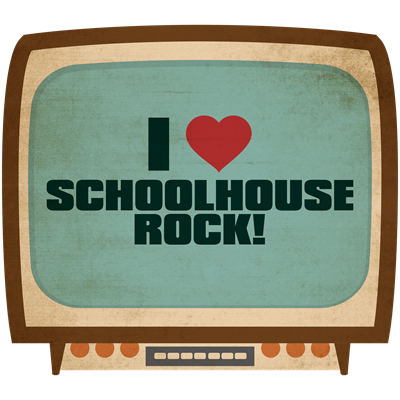 Retro I Heart Schoolhouse Rock!