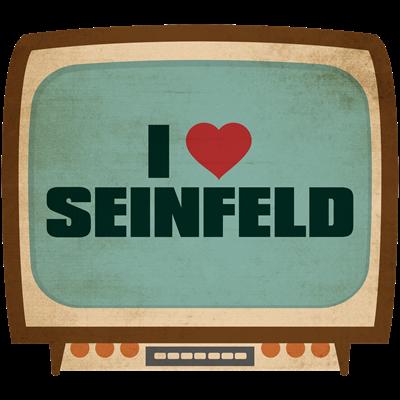 Retro I Heart Seinfeld