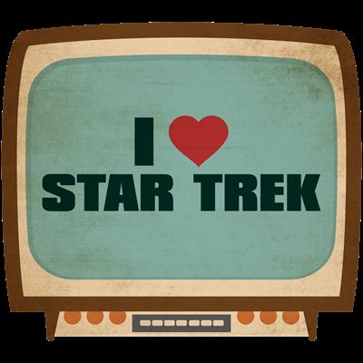 Retro I Heart Star Trek
