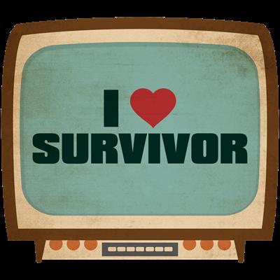 Retro I Heart Survivor