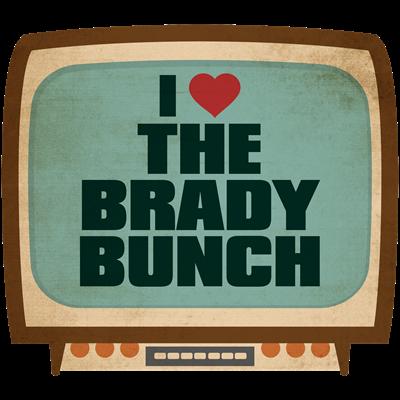 Retro I Heart The Brady Bunch