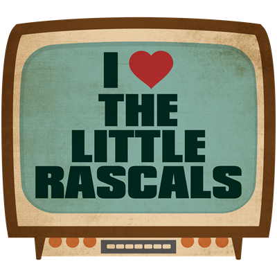 Retro I Heart The Little Rascals