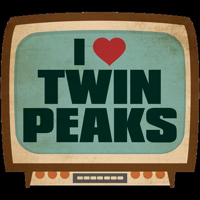 Retro I Heart Twin Peaks