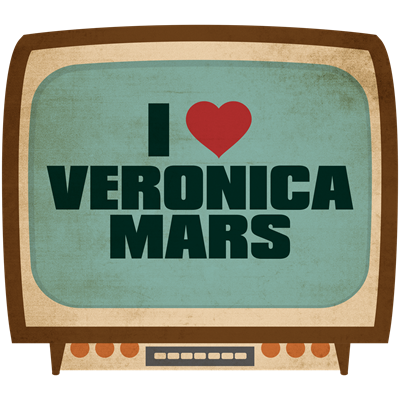 Retro I Heart Veronica Mars