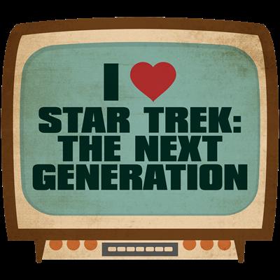 Retro I Heart Star Trek: The Next Generation