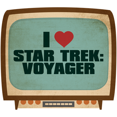 Retro I Heart Star Trek: Voyager