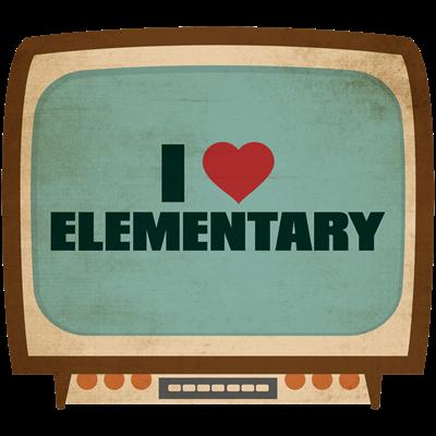 Retro I Heart Elementary