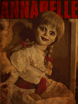 Vintage Style Annabelle Poster