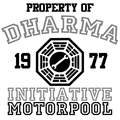 Property of Dharma Initiative - Motorpool