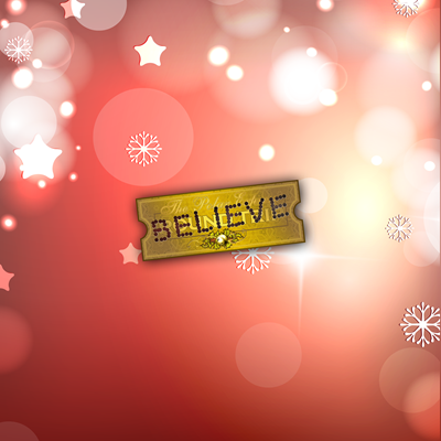 Polar Express - Punched Ticket - BELIEVE