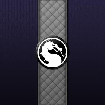 Mortal Kombat Logo - Smoke Klassic