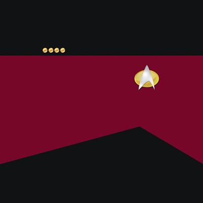 Star Trek: TNG Command Red Uniforms