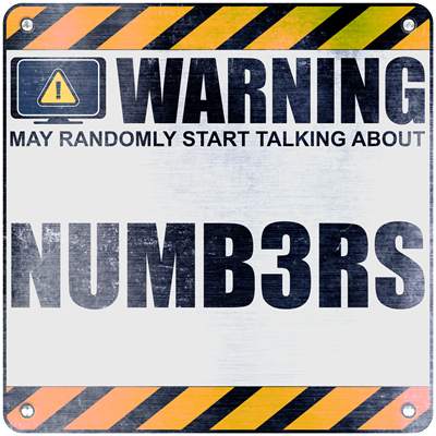 Warning: Numb3rs