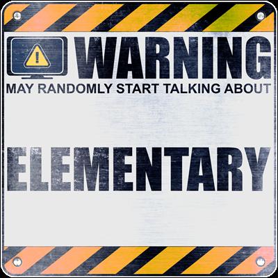 Warning: Elementary