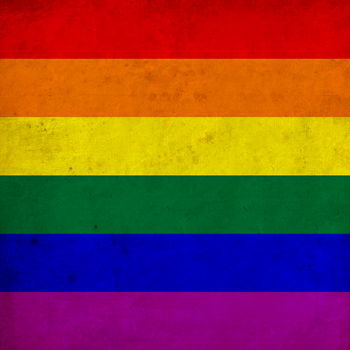 Vintage Rainbow Gay Pride Flag