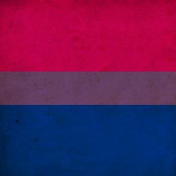 Vintage Bisexual Pride Flag