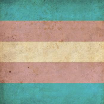 Vintage Transgender Pride Flag