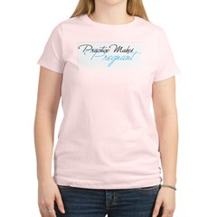Practice Makes Pregnan Women's Light T-Shirt
