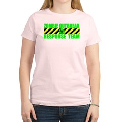 Zombie Outbreak Response Team Women's Light T-Shirt