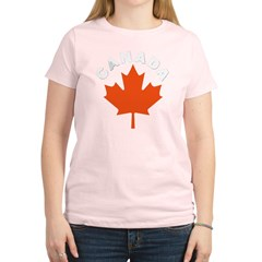 Canadian Maple Leaf Women's Light T-Shirt
