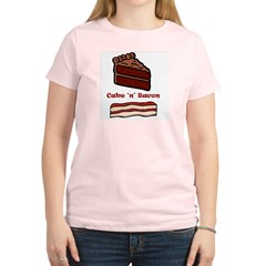 CakeNBacon.jpg Women's Light T-Shirt