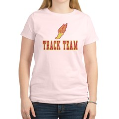 Track Team Women's Light T-Shirt
