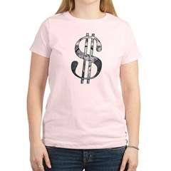 US Dollar Sign | Women's Light T-Shirt