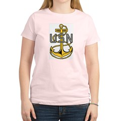 Chief Petty Officer<BR> Tank Top 4 Women's Light T-Shirt